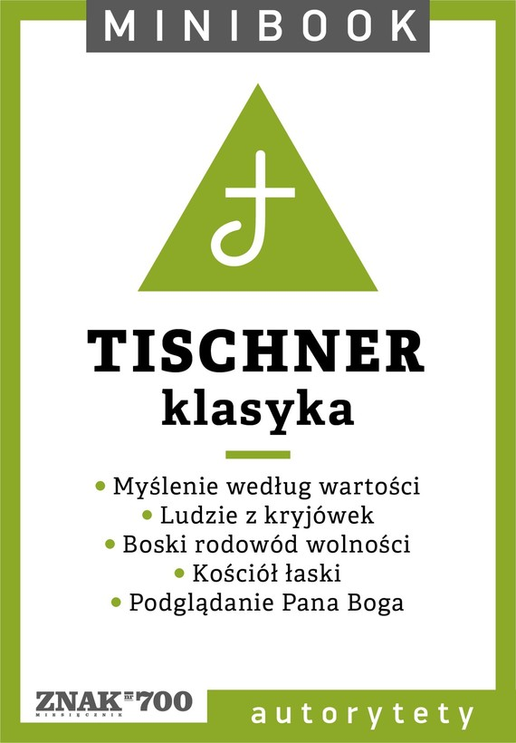 okładka Tischner [klasyka]. Minibookebook | epub, mobi | Ks. Józef Tischner