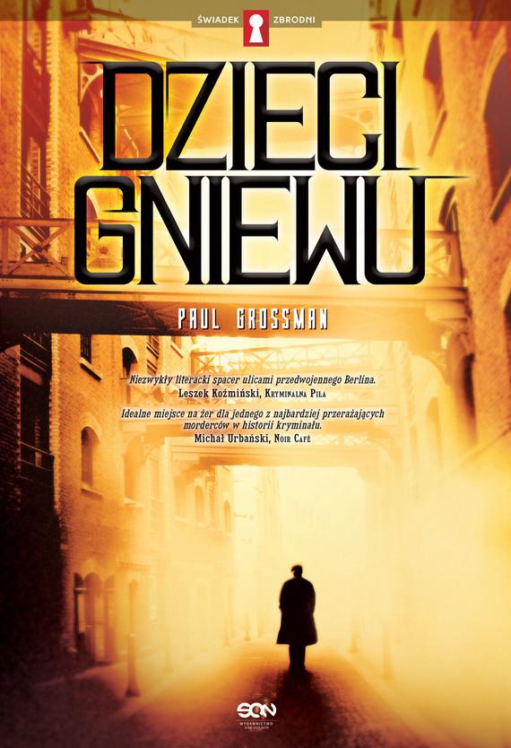 okładka Dzieci gniewu, Ebook | Paul Grossman