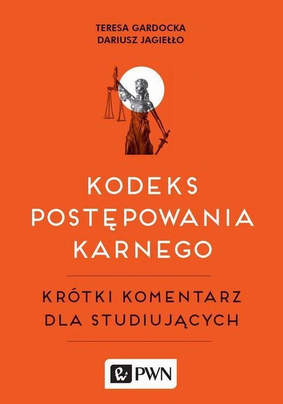 okładka Kodeks postępowania karnegoebook | epub, mobi | Teresa  Gardocka, Dariusz  Jagiełło