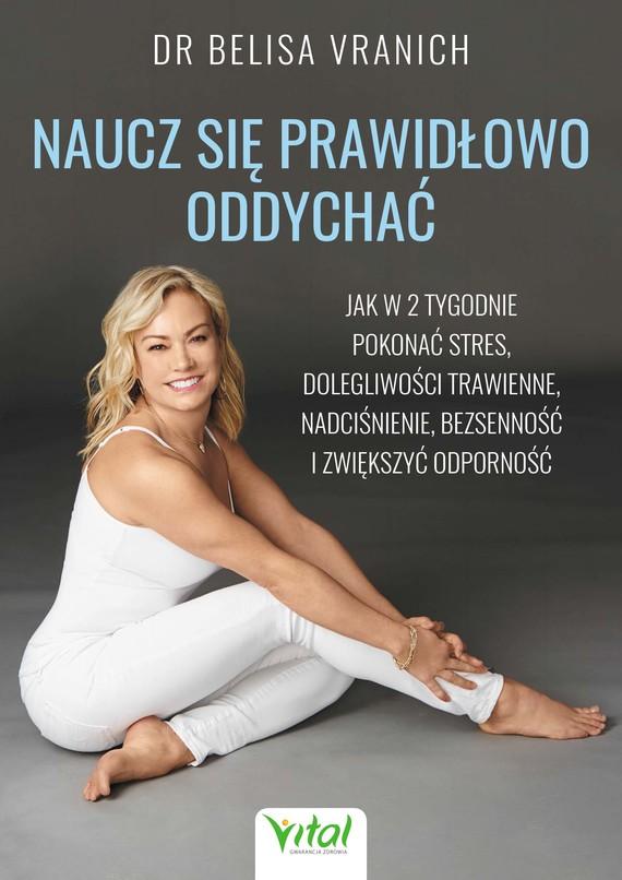 okładka Naucz się prawidłowo oddychać - PDF, Ebook | Belisa Vranich