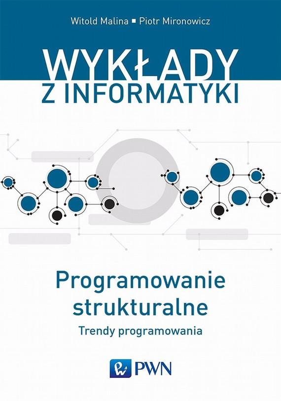okładka Programowanie strukturalne, Ebook | Witold  Malina, Piotr  Mironowicz
