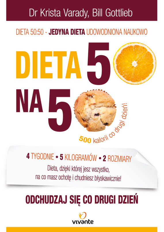 okładka Dieta 50:50. Odchudzaj się co drugi dzień!, Ebook | dr Krista Varady, Bill Gottlieb