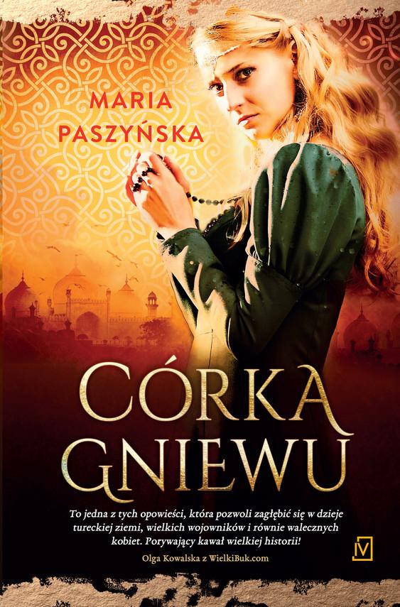 okładka Córka gniewuebook   epub, mobi   Maria  Paszyńska