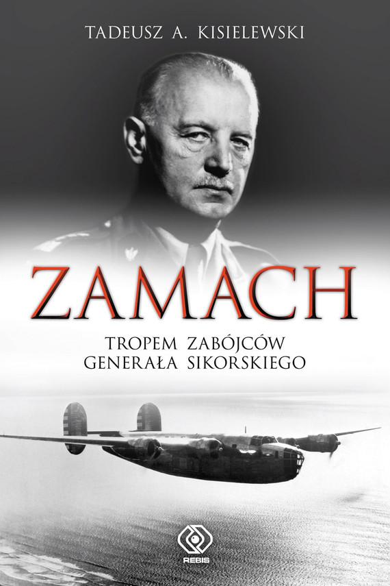 okładka Zamach, Ebook | Tadeusz Antoni Kisielewski