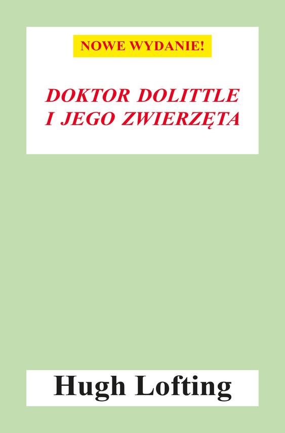 okładka Doktor Dolittle i jego zwierzęta (nowe wyd.), Ebook   Hugh Lofting