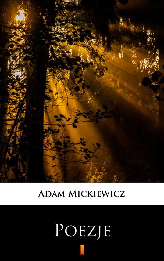 okładka Poezje. Wybórebook | epub, mobi | Adam Mickiewicz