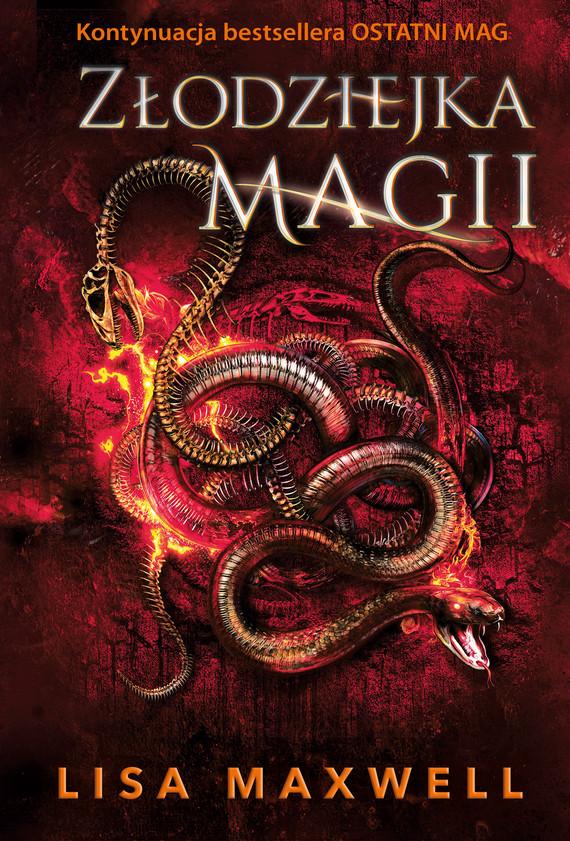 okładka Złodziejka magiiebook | epub, mobi | Lisa Maxwell