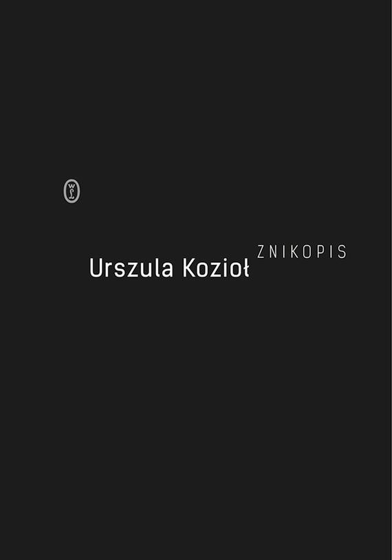 okładka Znikopis, Ebook | Urszula Kozioł