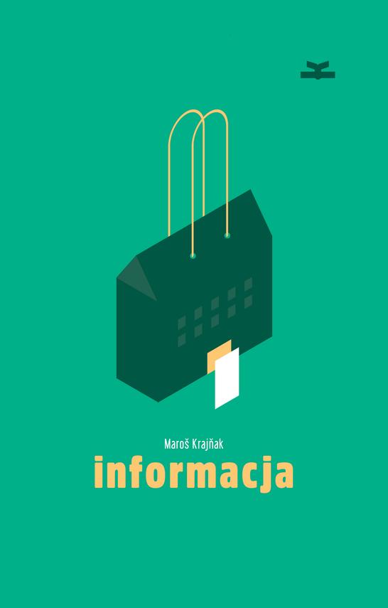 okładka Informacjaebook | epub, mobi | Maroš  Krajňak