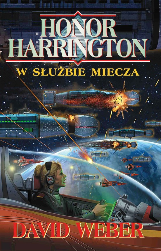 okładka Honor Harrington. W służbie miecza, Ebook | David Weber