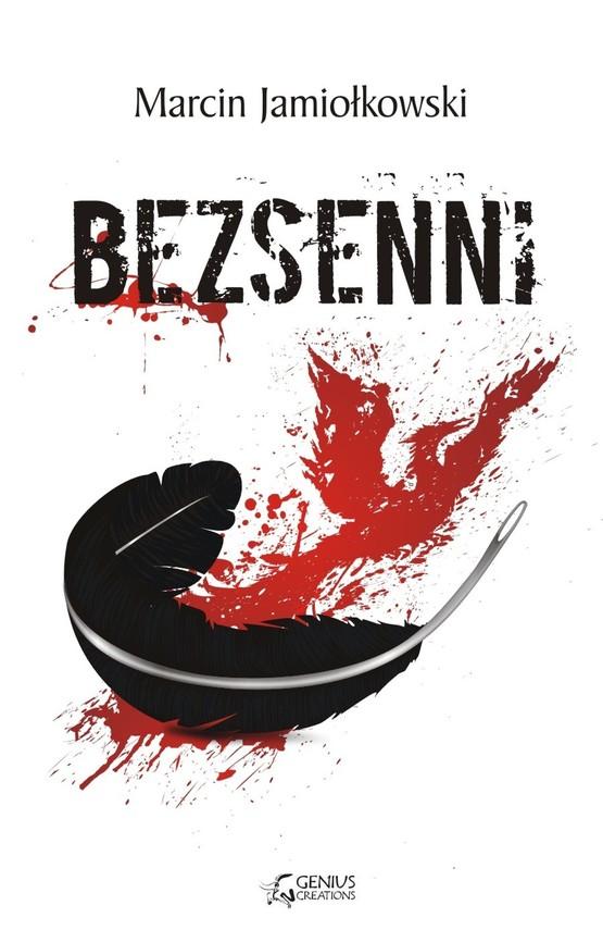 okładka Bezsenni, Ebook | Marcin Jamiołkowski