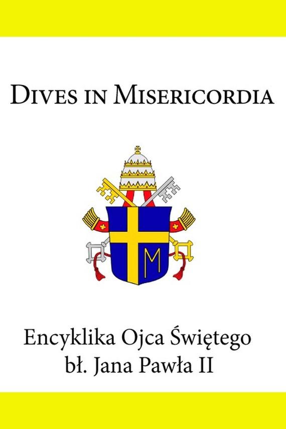 okładka Encyklika Ojca Świętego Jana Pawła II Dives in Misericordia, Ebook | Jan Paweł II