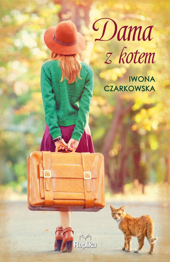 okładka Dama z kotem, Ebook | Iwona  Czarkowska