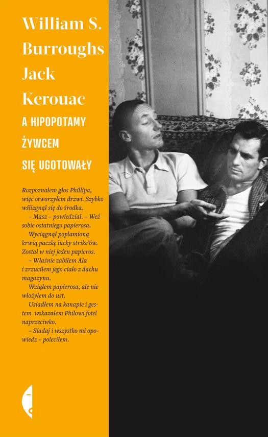 okładka A hipopotamy żywcem się ugotowałyebook   epub, mobi   Jack Kerouac, William S. Burroughs