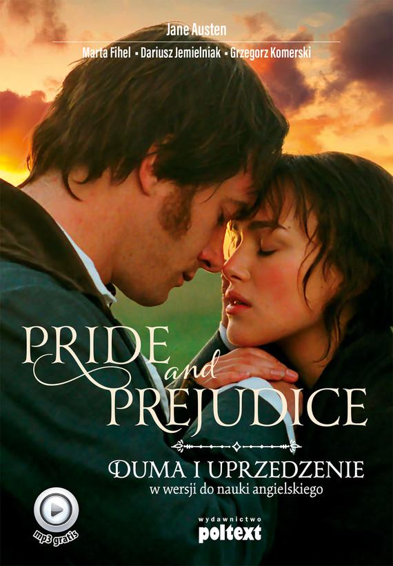 okładka Pride and Prejudiceebook | epub, mobi | Jane Austen, Dariusz Jemielniak, Marta Fihel, Grzegorz Komerski