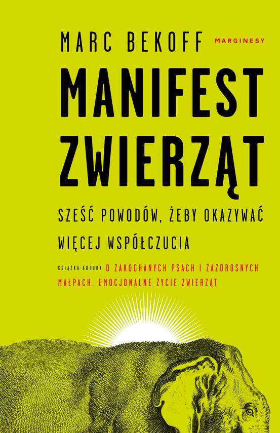 okładka Manifest zwierząt, Ebook | Marc Bekoff