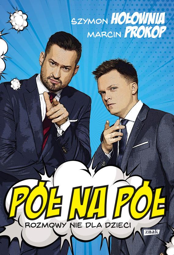 okładka Pół na półebook | epub, mobi | Szymon Hołownia, Marcin Prokop