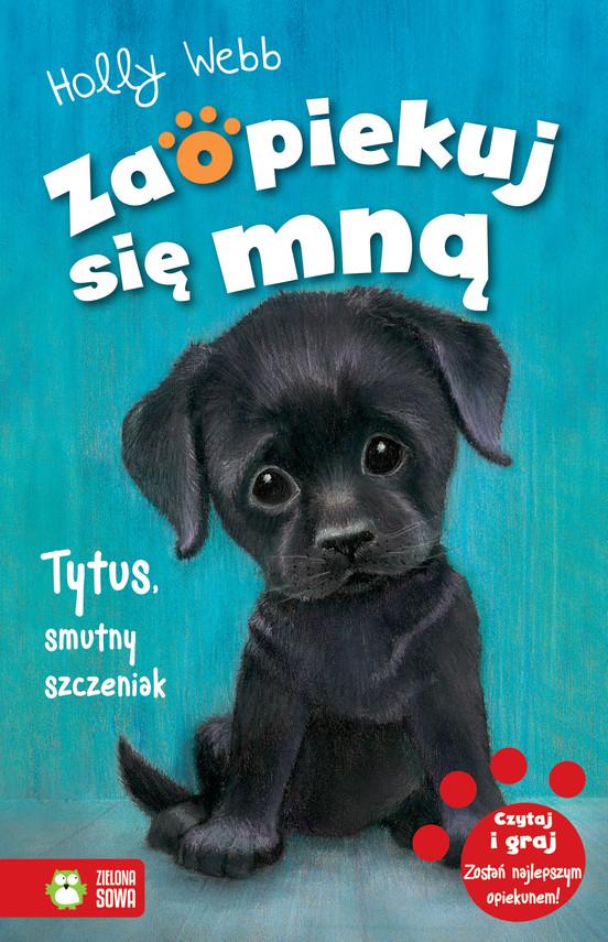 okładka Tytus, smutny szczeniak, Ebook | Holly Webb