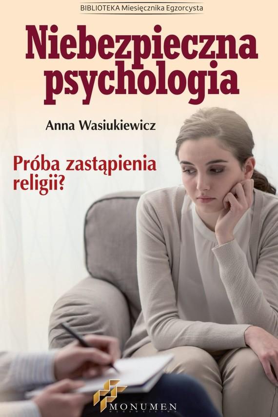 okładka Niebezpieczna psychologiaebook | epub, mobi | Anna Wasiukiewicz