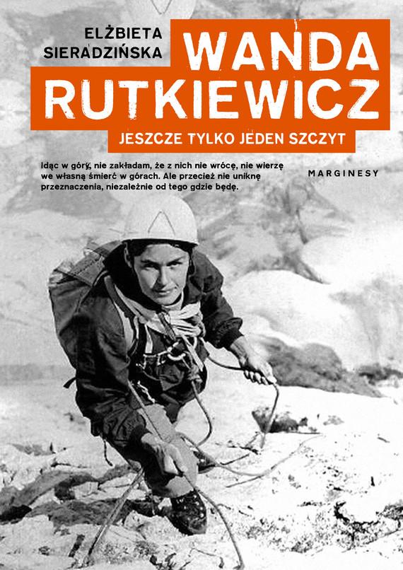 okładka Wanda Rutkiewiczebook | epub, mobi | Elżbieta Sieradzińska