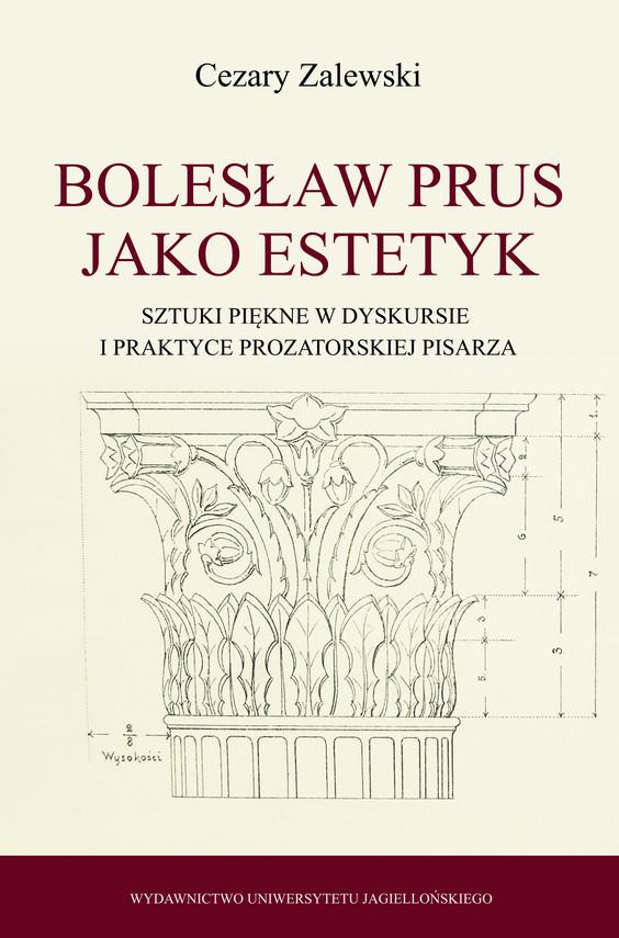okładka Bolesław Prus jako estetyk, Ebook   Cezary Zalewski