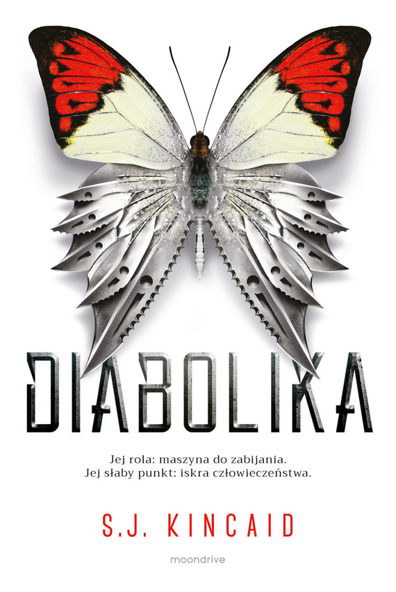 okładka Diabolika, Ebook   S.J. Kincaid
