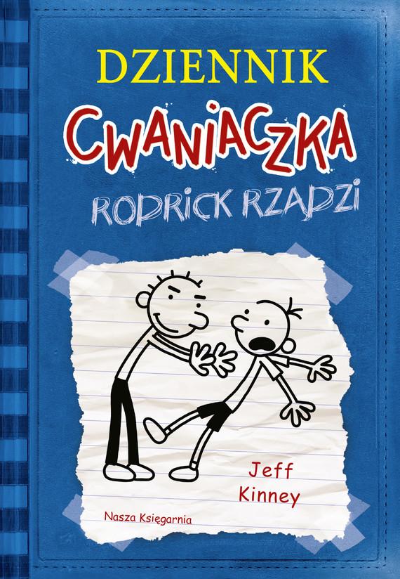 okładka Dziennik Cwaniaczka 2 Rodrick rządzi, Ebook | Jeff Kinney