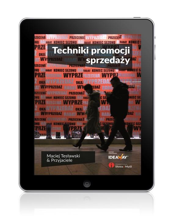 okładka Techniki promocji sprzedażyebook | epub, mobi | Maciej Tesławski