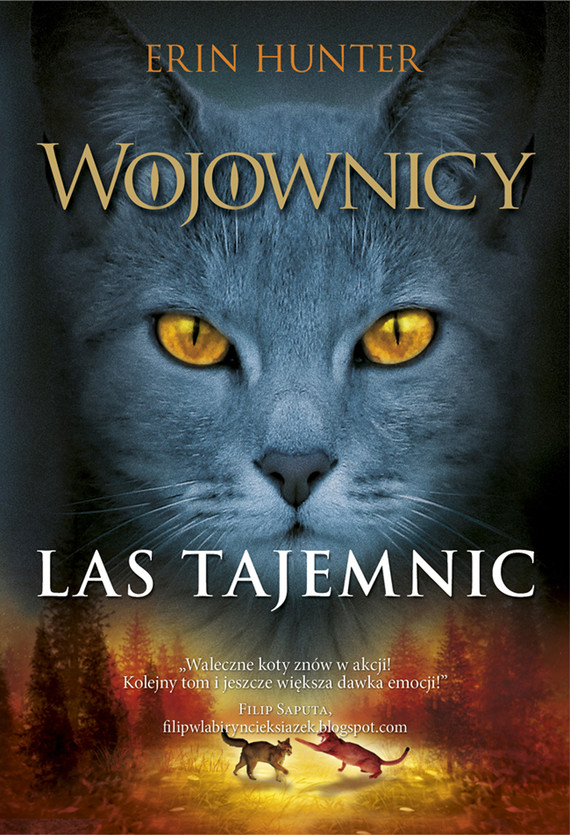 okładka Wojownicy (tom 3). Las tajemnic, Wojownicy, Tom III, Ebook | Erin Hunter