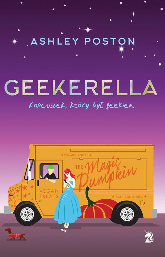 okładka Geekerellaebook | epub, mobi | Ashley Poston
