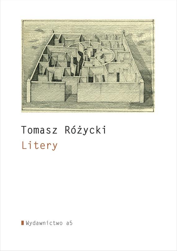okładka Literyebook | epub, mobi | Tomasz  Różycki