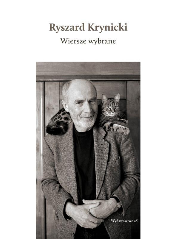 okładka Wiersze wybraneebook | epub, mobi | Ryszard Krynicki