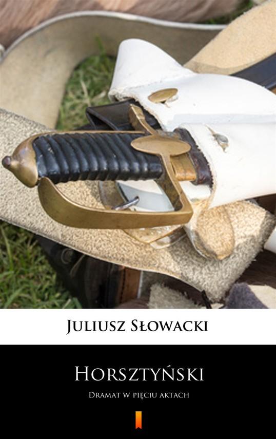 okładka Horsztyński, Ebook | Juliusz Słowacki