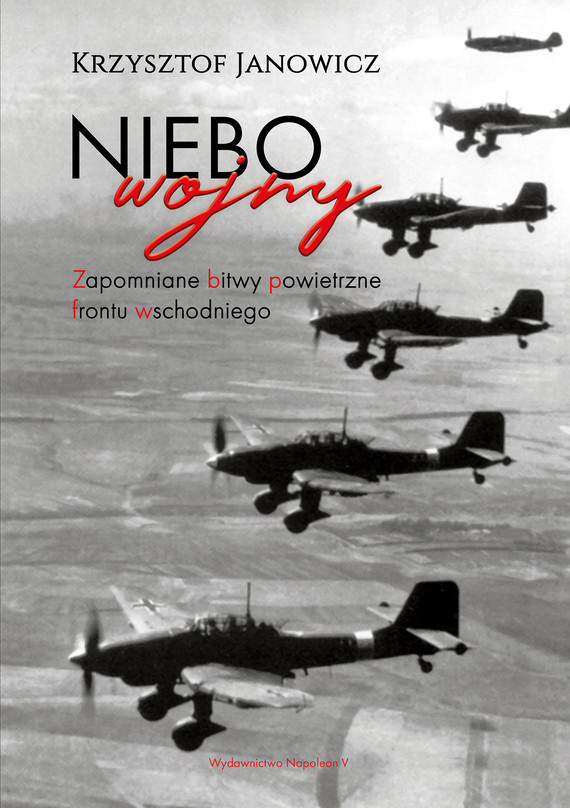 okładka Niebo wojny.ebook | epub, mobi | Janowicz Krzysztof