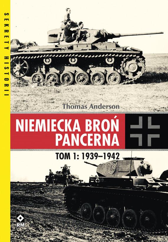 okładka Niemiecka broń pancernaebook   pdf   Thomas Anderson