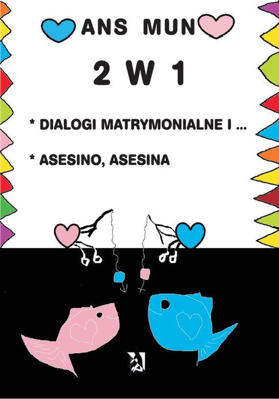 okładka 2 w 1. Dialogi matrymonialne i… Asesino. Asesina, Ebook | Ans Mun