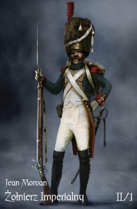 okładka Żołnierz Imperialny 1800-1814 Tom II/1ebook | epub, mobi | Morvan Jean
