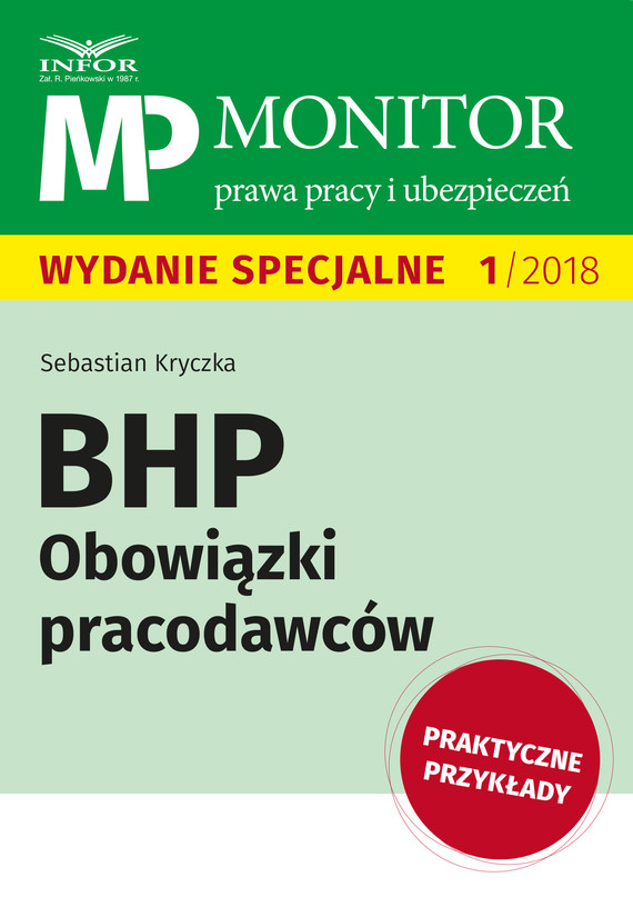 okładka BHP Obowiązki pracodawców, Ebook   Sebastian Kryczka