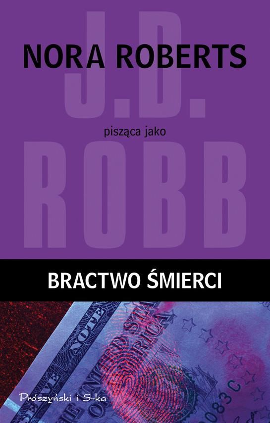 okładka Bractwo śmierciebook   epub, mobi   J.D Robb