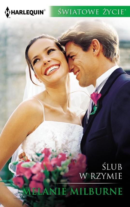 okładka Ślub w Rzymieebook   epub, mobi   Melanie Milburne