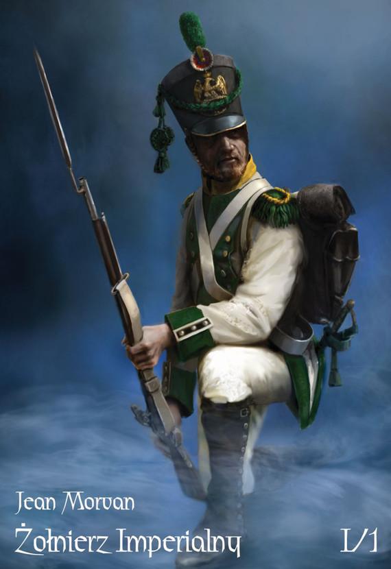 okładka Żołnierz Imperialny Tom1 cz. 1. Pobór – Wyposażenieebook | epub, mobi | Morvan Jean