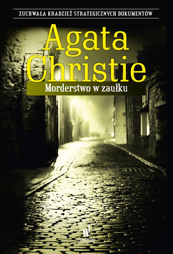 okładka Morderstwo w zaułkuebook | epub, mobi | Agata Christie