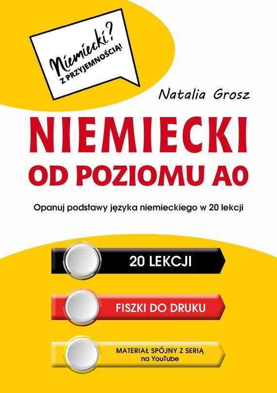 okładka Niemiecki od poziomu A0, Ebook | Natalia Grosz
