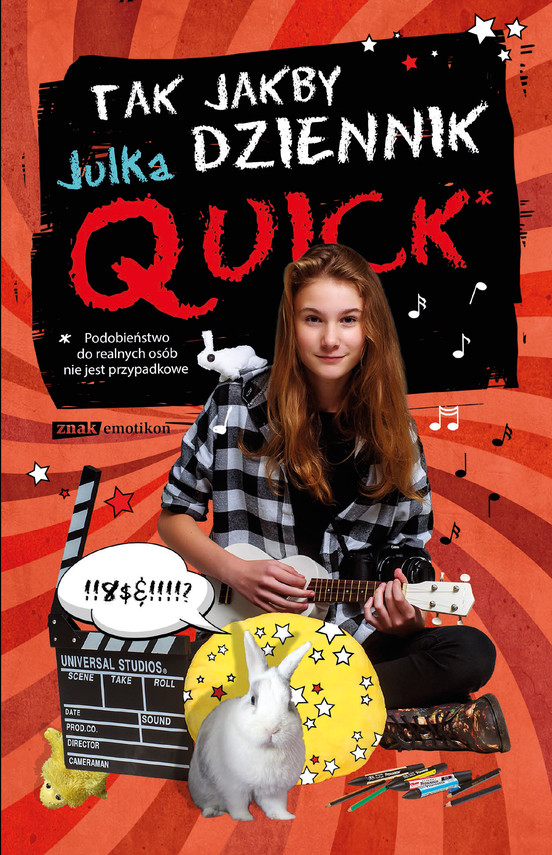 okładka Tak jakby dziennik, Ebook | Julka Quick