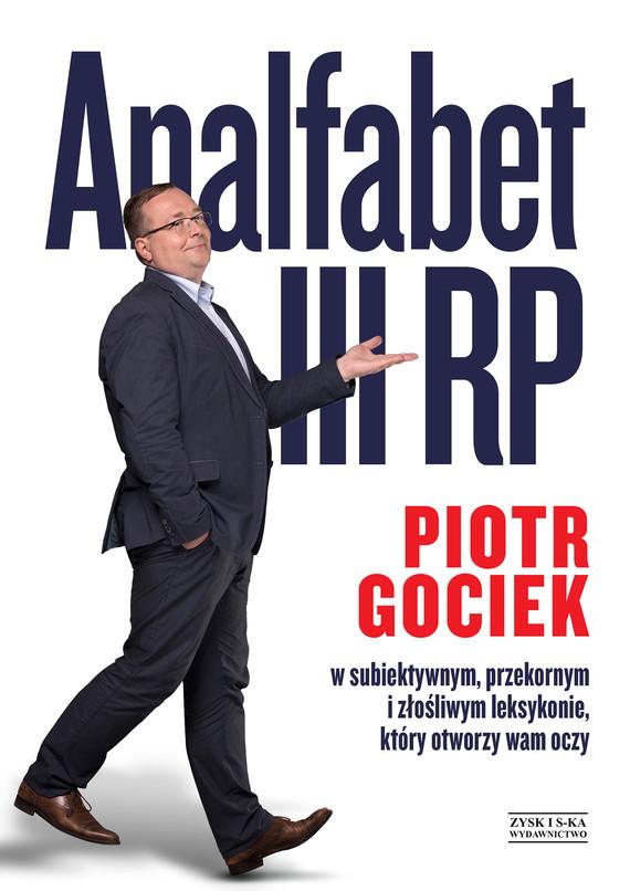 okładka Analfabet III RP, Ebook | Piotr Gociek