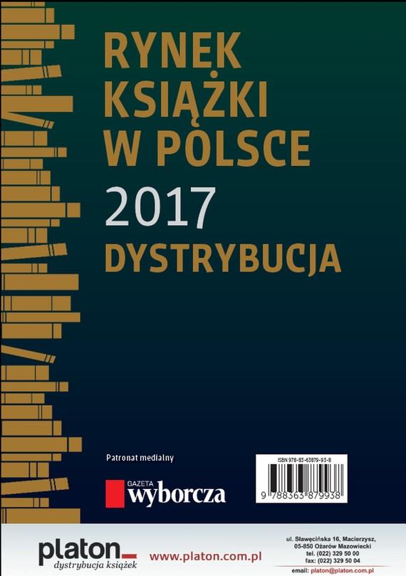okładka Rynek książki w Polsce 2017. Dystrybucja, Ebook | Praca zbiorowa