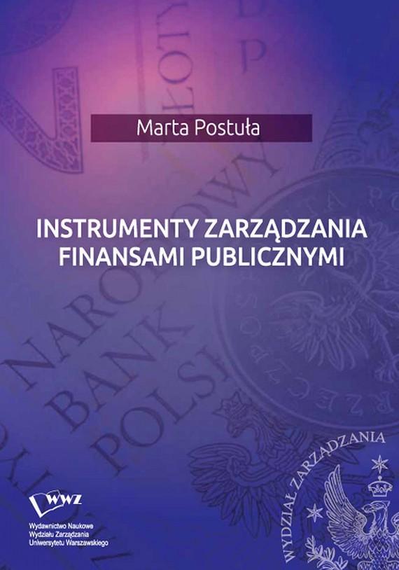 okładka Instrumenty zarządzania finansami publicznymi, Ebook | Marta  Postuła