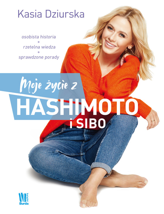 okładka Moje życie z hashimoto i SIBO, Ebook   Dziurska Katarzyna