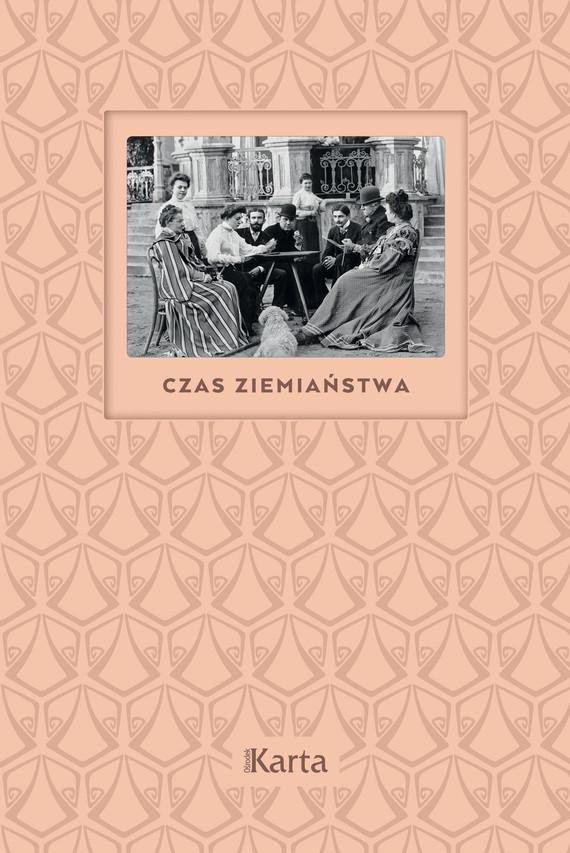 okładka Czas ziemiaństwaebook   epub, mobi   Anna Richter