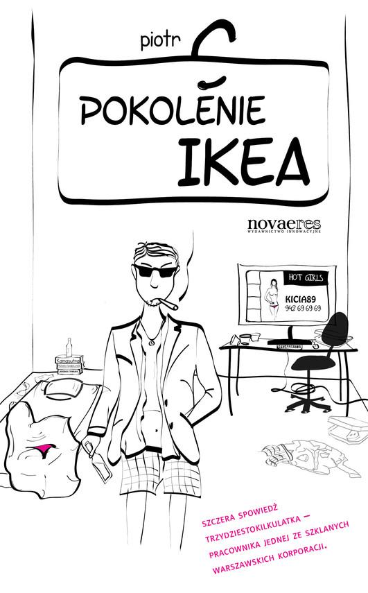 okładka Pokolenie Ikea, Ebook   Piotr  C